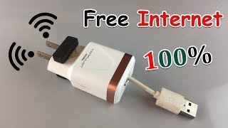 New Free Internet 100% Work -  How to Get Free WiFi 2019