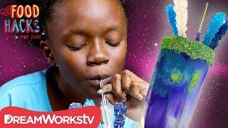 Galaxy Voltron Milkshake + More Voltron Hacks! | FOOD HACKS FOR KIDS