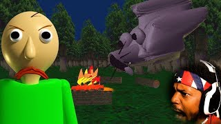 WHO IS THIS NEW WOLF CHARACTER!? | Baldi
