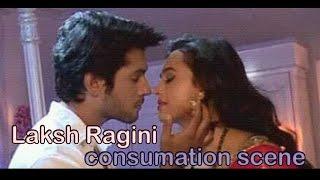 Ragini and Laksh's consumation. Tejaswi and Namish felt awkward shooting the scene