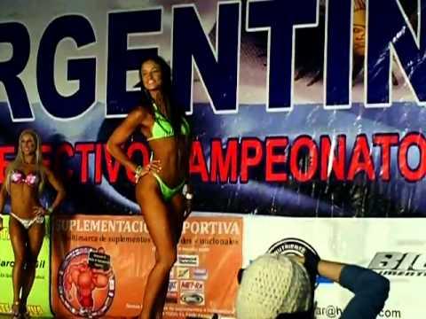 Inge Moeller 1er puesto Categoria Bikini Fitnnes Campeonato Argentino