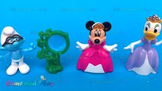 Super Surprise Toys with Minions Disney Daisy Duck and Smurfs Surprises