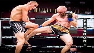 Sean Fagan vs. Pedro Gonzalez Fight Video   Lion Fight 26