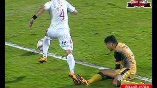 ملخص مباراة الإنتاج الحربي 3 - 1 الزمالك | الجولة 20 - الدوري المصري