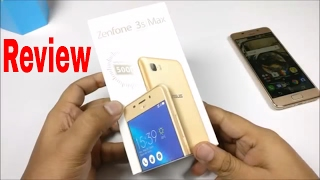 Review Asus Zenfone 3s Max - 5000mAH lithium-polymer battery
