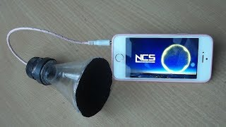 How to Make a Speaker at Home | Using Plastic Bottle