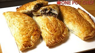 Beef and Mushroom Hand Pies | One Pot Chef