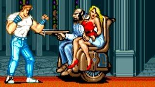 Final Fight (Arcade) All Bosses (No Damage)