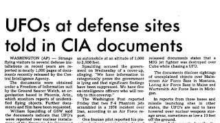 Military Witnesses of UFOs at Nuclear Sites - National Press Club