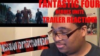 FANTASTIC 4 Heroes Unite Trailer Reaction!