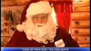 CANAL ATV+, NOTICIERO - LA VILLA DE PAPÁ NOEL en PLAZA NORTE 2013
