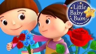 Roses Are Red Song | Nursery Rhymes | Original Version By LittleBabyBum!