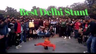 Best stunts(B-Boying) street performance in delhi
