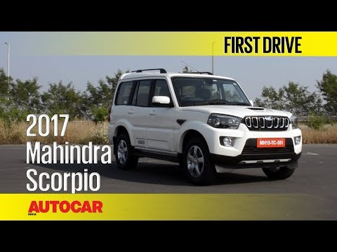 Xxx Mp4 2017 Mahindra Scorpio Facelift First Drive Autocar India 3gp Sex