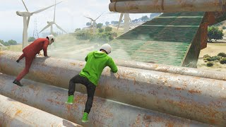 EXTREME BMX PARKOUR! (GTA 5 Funny Moments)