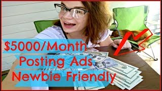 Top Ways To Make Money Online Fast 2017 & 2018 - How To Earn Money Posting Ads - INSTANT Payment