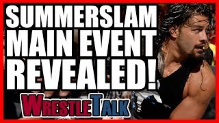Smackdown Star DEBUTS On Raw! Summerslam 2017 Main Event REVEALED!   WWE Raw, July 24, 2017 Review