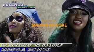 DJ LUCKY Q FT DJ ROLENZO MEGA MIXX