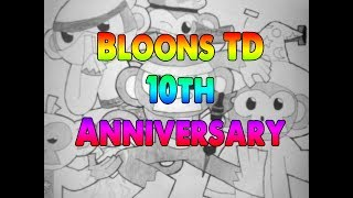 Most Awesomenest Collab in NK HISTORY - 5 people for BTD's 10th Anniversary