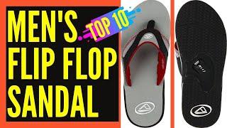 Top 10 Best Flip Flops For Men || Best Mens Flip Flops Reviews