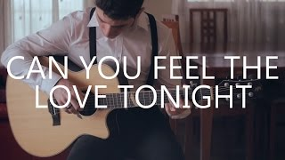 Can You Feel The Love Tonight - The Lion King (fingerstyle guitar cover by Peter Gergely)