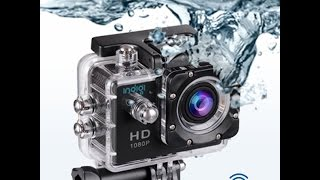 Indigi HD 1080P WiFi Water Resistant Sports Camera
