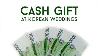 How Much Money Should I Pay At Korean Weddings?