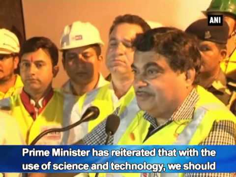Chenani-Nashri tunnel to boost tourism in J and K: Gadkari