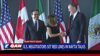 U.S. Negotiators Set Red Lines in NAFTA Talks