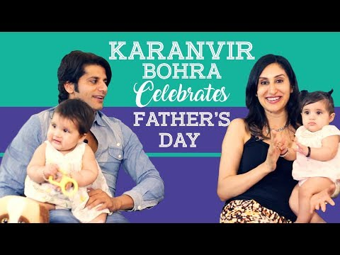 Xxx Mp4 Karanvir Bohra And His Twin Baby Girls Celebrate Father39s Day TV Interview Pinkvilla 3gp Sex