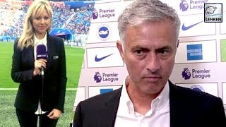 Jose Mourinho Snaps At A Reporter After Brighton Defeats Manchester United