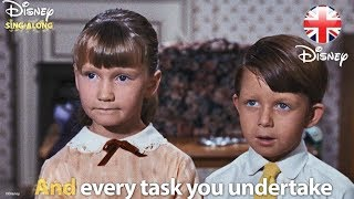 DISNEY SING-ALONGS   A Spoonful Of Sugar - Mary Poppins Lyric Video   Official Disney UK
