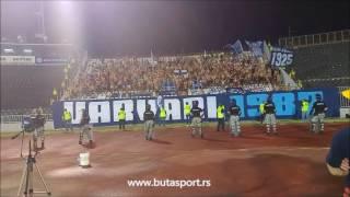 Varvari ne uzvraćaju Grobarima na skandiranje Kosovo - Srbija