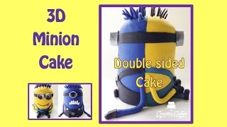 Despicable Me 3D Minion Cake (How to make)