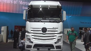 Mercedes-Benz Actros 2542 L 6x2 Chassis Truck (2017) Exterior and Interior in 3D