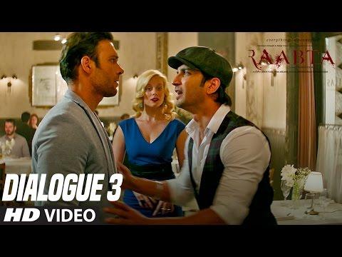 Raabta Dialogue Promo 3 | Sushant Singh Rajput | Kriti Sanon