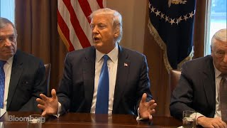 Trump Says Border Wall Can Be Built in One Year