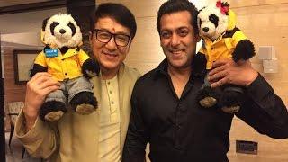 Salman Khan Meets Jackie Chan