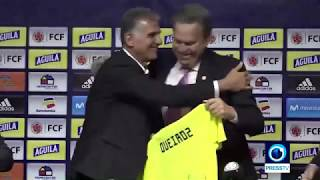 Carlos Queiroz appointed Colombia coach