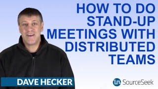 How To Hold  Stand Up Meetings With Offshore Teams