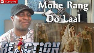 Mohe Rang Do Laal (Official Video Song) Bajirao Mastani - Ranveer Singh & Deepika Padukone REACTION!