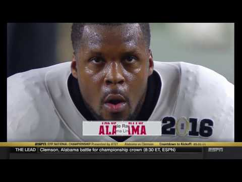 2015 16 CFP National Championship 2 Alabama vs. 1 Clemson HD