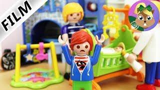 عائلة الطيور: الحضانة-جوليان يجب ان يقاسم غرفته لغرفة الطفل الجديد. بلايموبيل فيلم