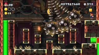 Superstar Road-8 Pendulum Castle [New Super Mario Bros Wii U]