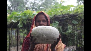 Village Food | Ash gourd and fish head pituli | Grandmother recipes-114