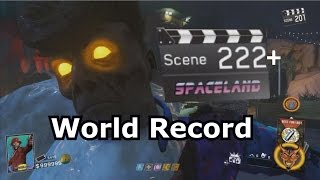 Round 222+ IW Zombies In Spaceland World Record