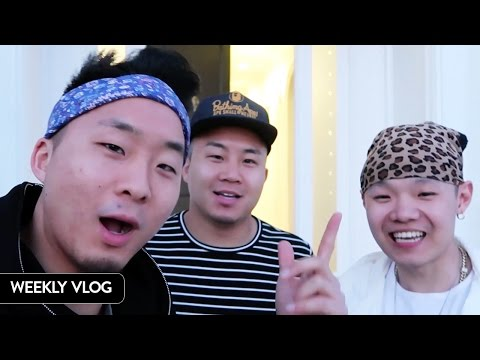 WHAT WERE WE DOING AT A HOLLYWOOD MANSION Fung Bros Vlog 5