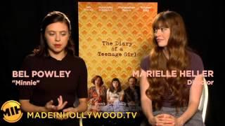 Alexander Skarsgård and Bel Powley on Sex Scenes in 'The Diary of a Teenage Girl'