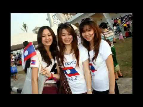 ເພງລາວ เพลงลาว Lao song Lao girls