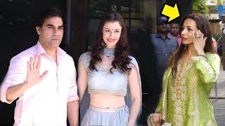 Arbaaz Khan Leaves With new Girlfriend As Soon As Malaika Arora Arrives At Salman